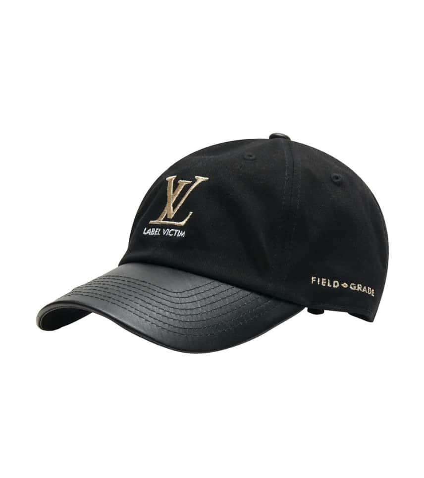 0f927a2866bf79 Field Grade Label Victim Dad Hat (Black) - 1000789H | Jimmy Jazz