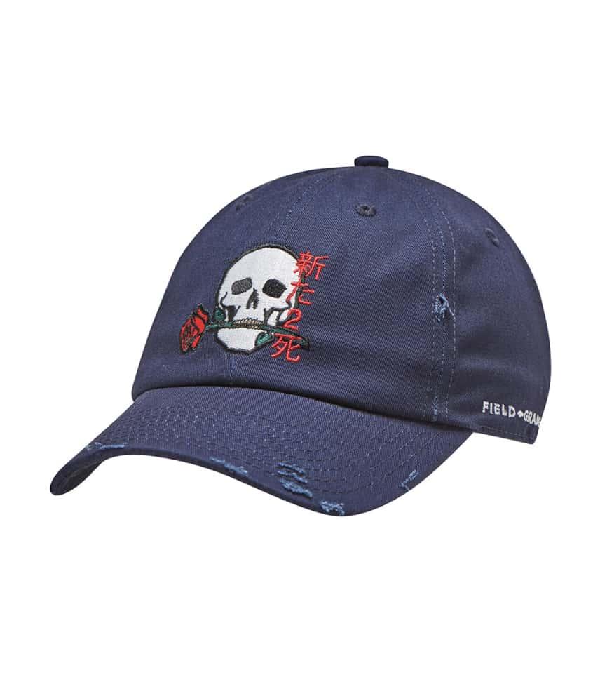 Field Grade Fresh 2 Death Kanji Dad Hat (Navy) - 1001711  e4c94b3759c4