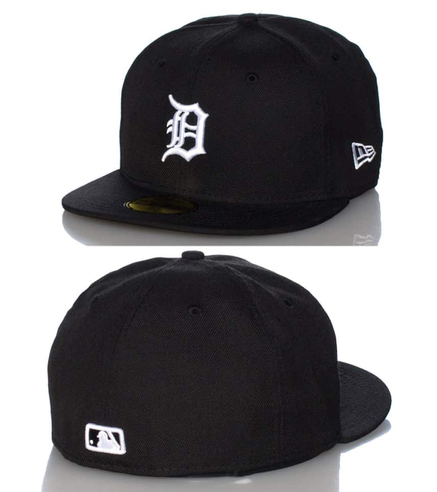 d77b3435bd9 New Era DETROIT TIGERS MLB FITTED CAP (Black) - 10023379