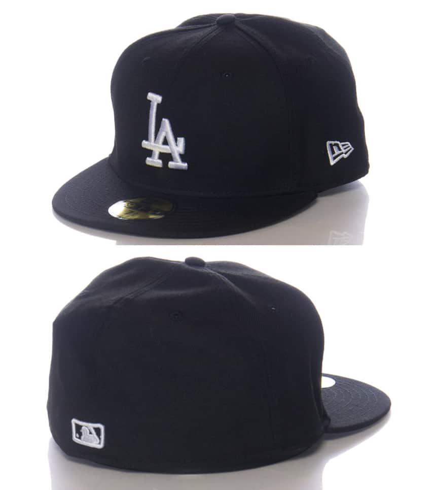 New Era LA DODGERS MLB FITTED CAP (Black) - 10047495H  f532a66e9404