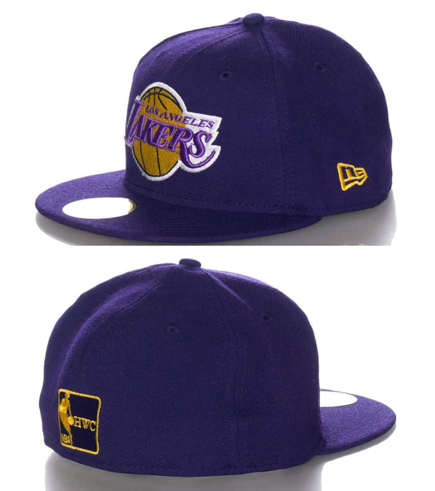 New Era LOS ANGELES LAKERS NBA FITTED CAP (Purple) - 10433685H ... 25644912a