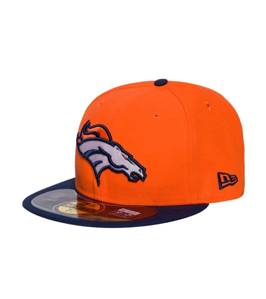 c81030534 New Era DENVER BRONCOS NFL FITTED CAP (Orange) - 10529769H   Jimmy Jazz