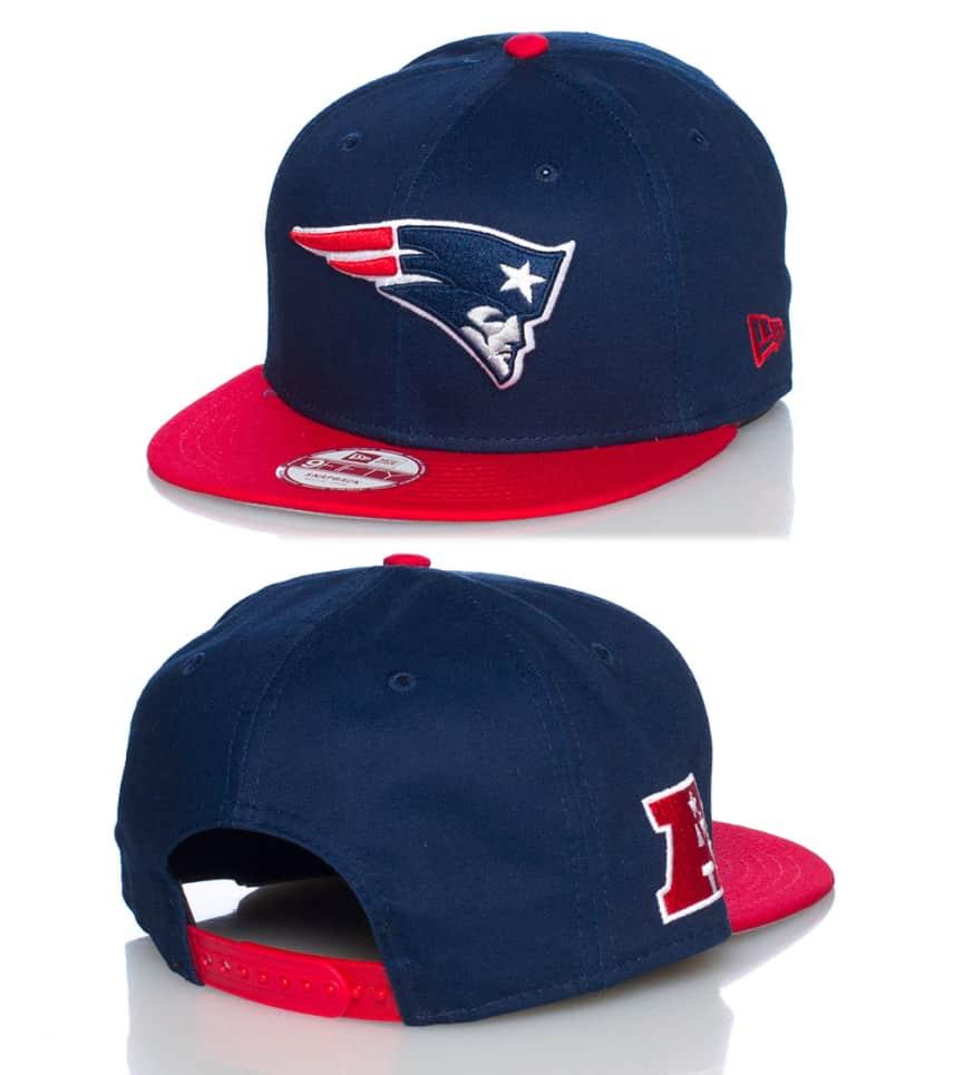 New New Era NEW ENGLAND PATRIOTS NFL SNAPBACK CAP (Navy) 10581396