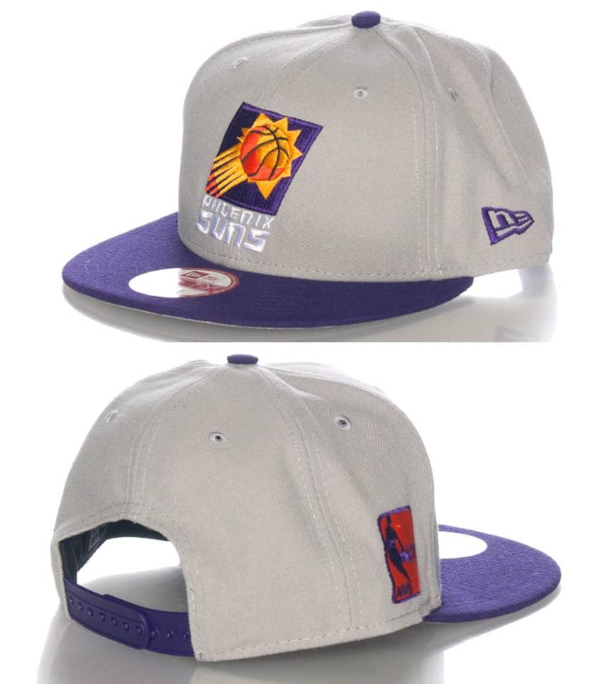 7d1b0118790fe1 New Era PHOENIX SUNS NBA SNAPBACK CAP (Grey) - 10592671H | Jimmy Jazz