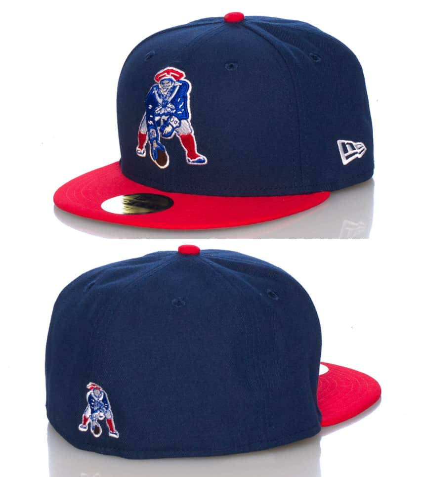 0a5e33c9998 New Era NEW ENGLAND PATRIOTS NFL FITTED CAP (Navy) - 10661781H ...