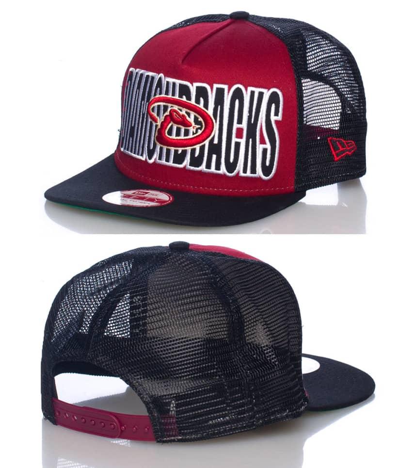486e71e6587 New Era ARIZONA DIAMONDBACKS MLB SNAPBACK CAP (Burgundy) - 10724143H ...