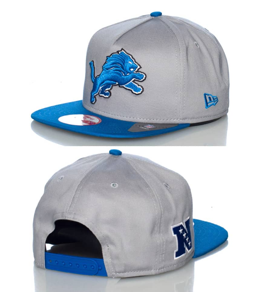 sports shoes d379c 997e5 NEW ERA DETROIT LIONS NFL SNAPBACK CAP