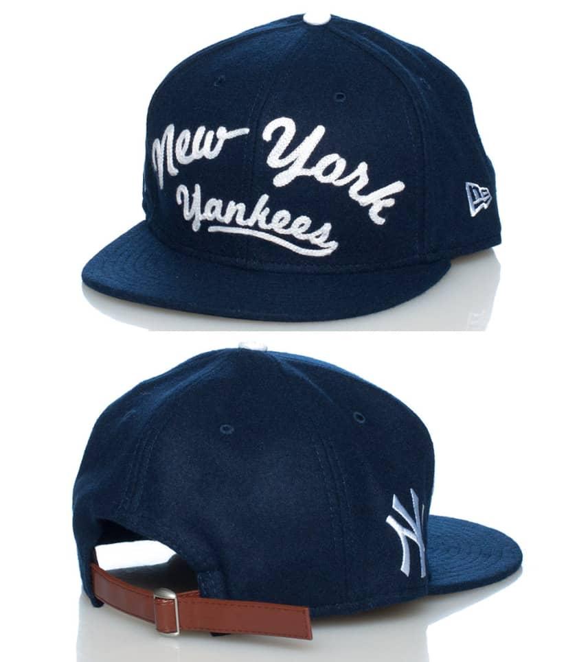 b1915506fc2 New Era SCRIPT NY YANKEES MLB STRAPBACK CAP (Navy) - 10848363H ...