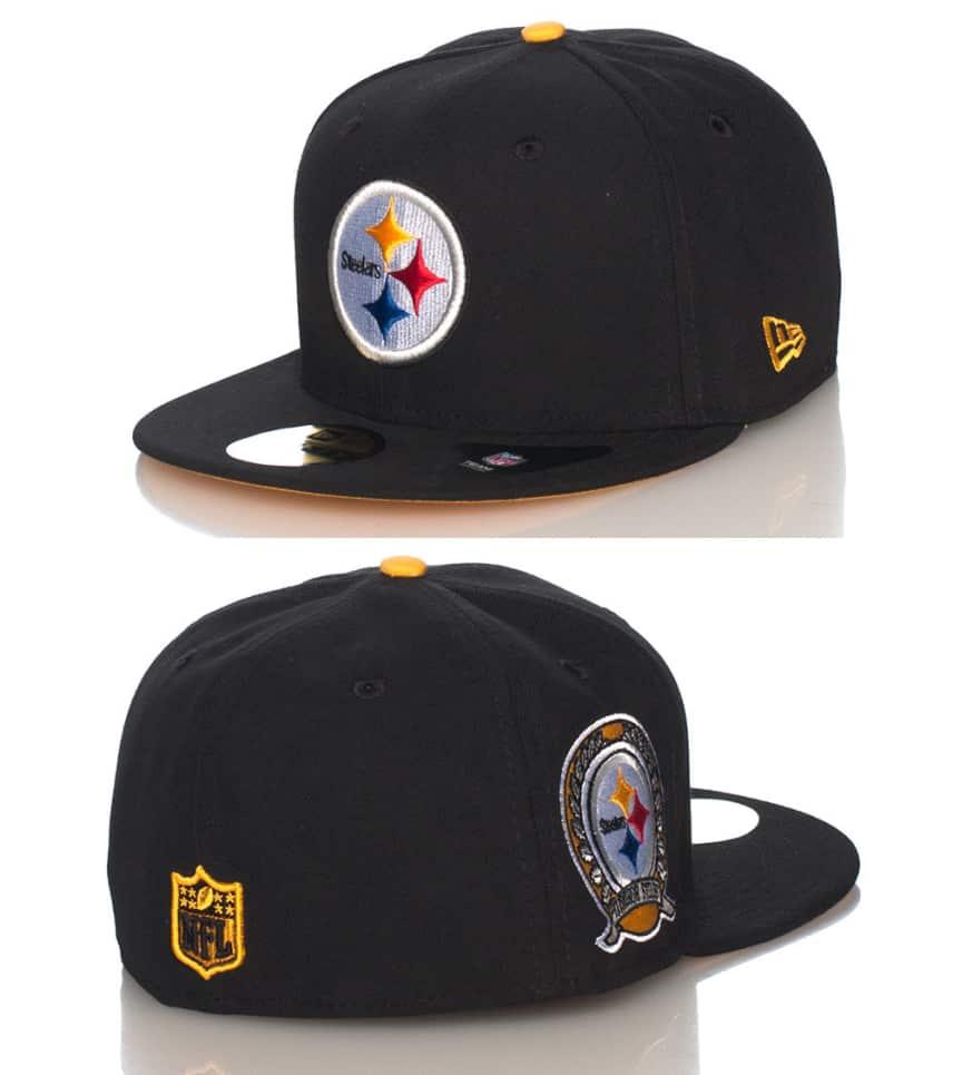 797cd7b7768 New Era Pittsburgh Steelers NFL Fitted Cap (Black) - 10884075H ...