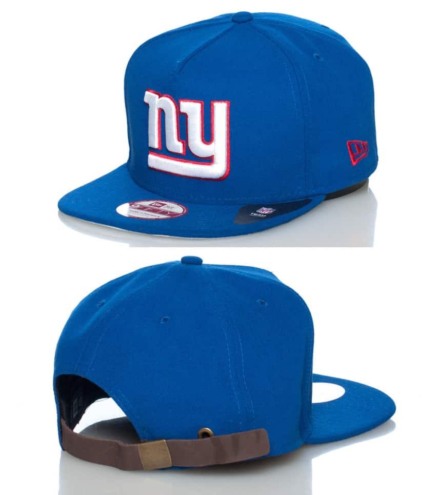 a136f1c2 NY GIANTS NFL STRAPBACK CAP