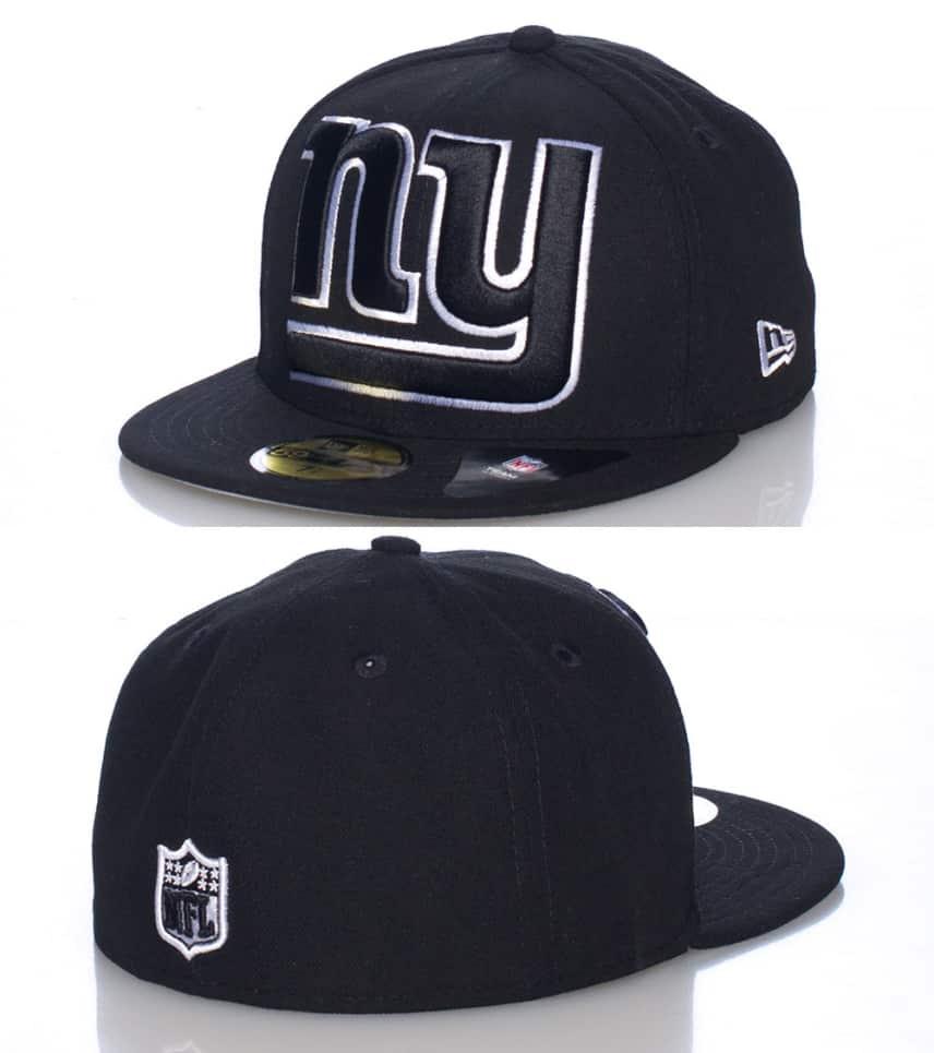 dcaa529f7de2a8 New Era NEW YORK GIANTS FITTED CAP (Black) - 10931354H | Jimmy Jazz