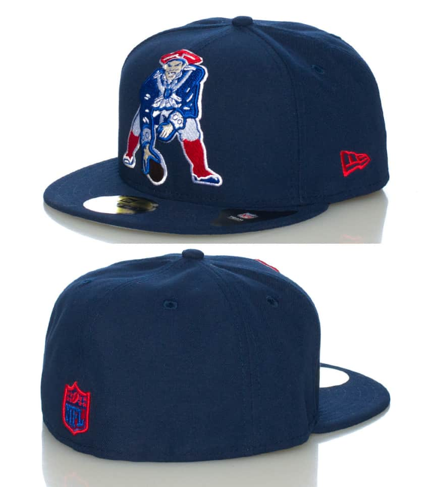 New Era New England Patriots Fitted Cap (Navy) - 10931359H  e3d5e30f71e