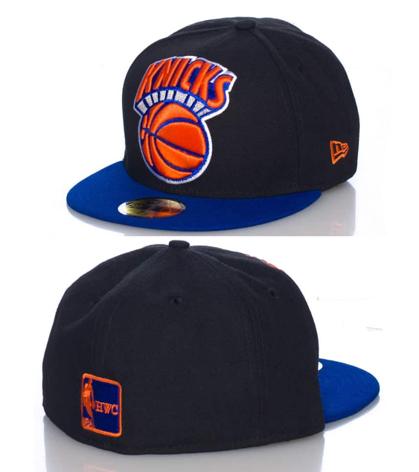 31d3f0838cc New Era New York Knicks NBA Fitted Cap (Black) - 10939470H