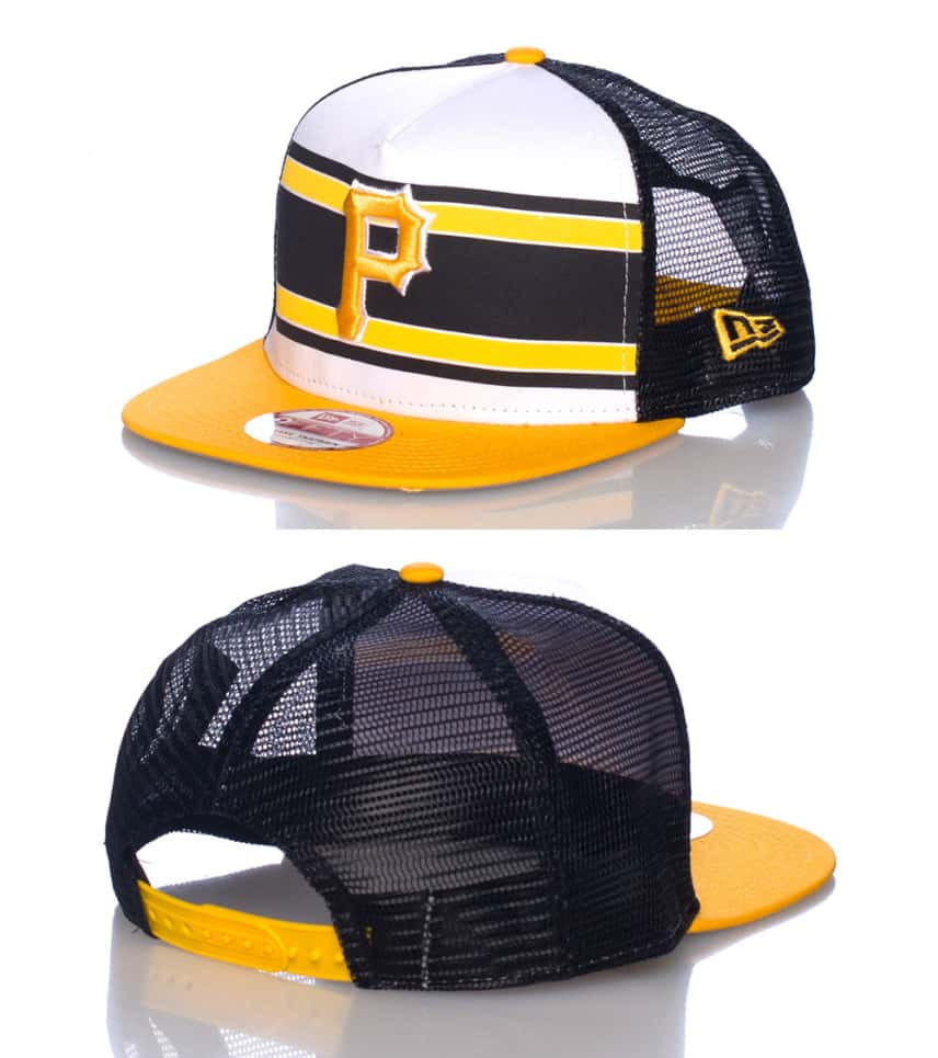 4e5ff061e7d New Era Pittsburgh Pirates Mlb Snapback Cap (Yellow) - 10945362H ...