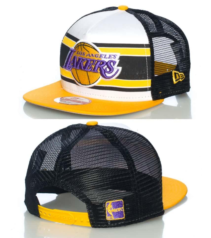 03ca04a2abc New Era LOS ANGELES LAKERS NBA SNAPBACK CAP (White) - 10945492H ...
