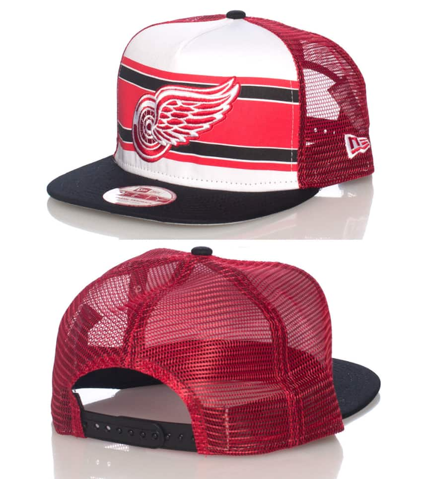 New Era DETROIT RED WINGS HOCKEY SNAPBACK CAP (Red) - 10945550H ... 57d26126a