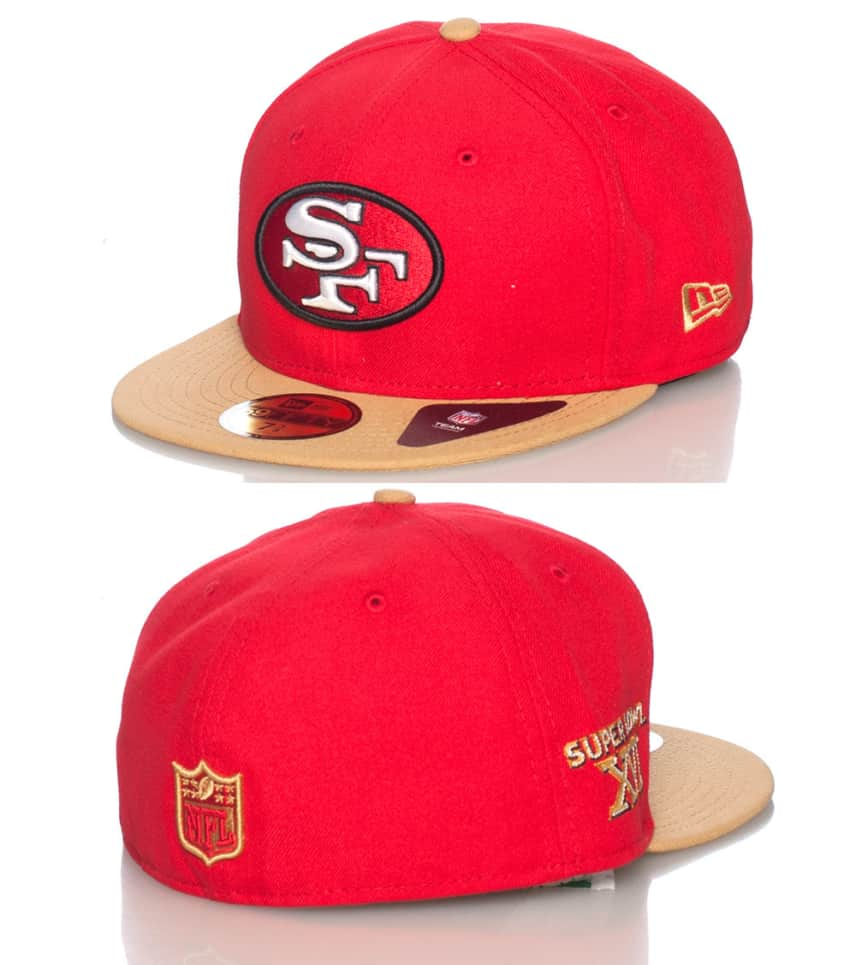 New Era SF 49ERS NFL FITTED CAP (Red) - 10979320  6714ef5a44d8