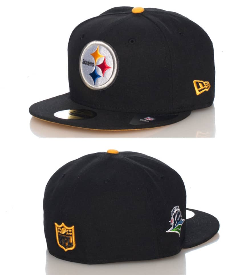 New Era Pittsburgh Steelers NFL Fitted Cap (Black) - 10979326H ... 0e62ce6194d