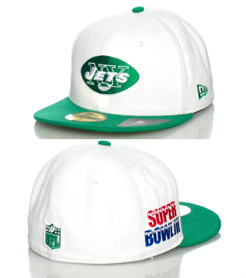 52d86aa4cdb New Era New York Jets Fitted Cap (White) - 10979353H