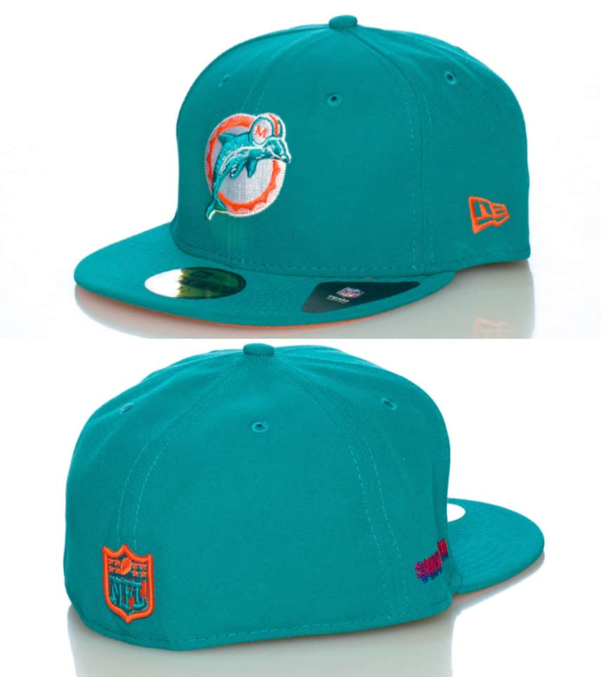 40a649c8d03 New Era MIAMI DOLPHINS NFL FITTED CAP (Medium Green) - 10979383H ...