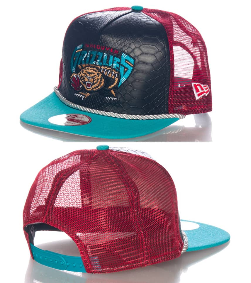 575f381479e93 New Era VANCOUVER GRIZZLIES NBA SNAPBACK CAP (Black) - 10979954H ...