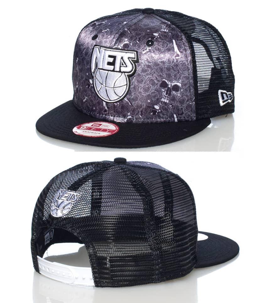 New Era Nj Nets NBA Snapback Cap (Black) - 11006321H  8bfbf9f1a924