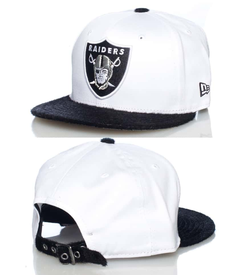 b7f7059e86bec5 New Era OAKLAND RAIDERS NFL STRAPBACK CAP (White) - 11006927H ...