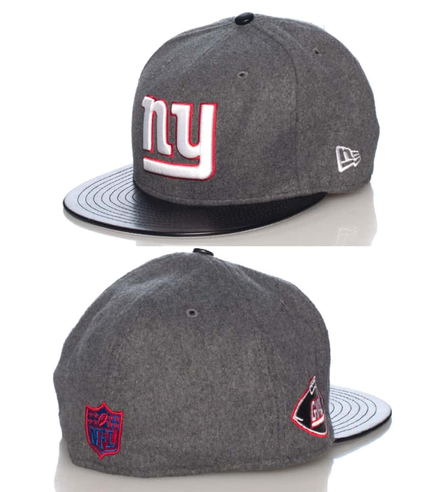 New Era NY Giants Fitted Cap Jj Exclusive (Grey) - 11027874H  5dfb49141fb