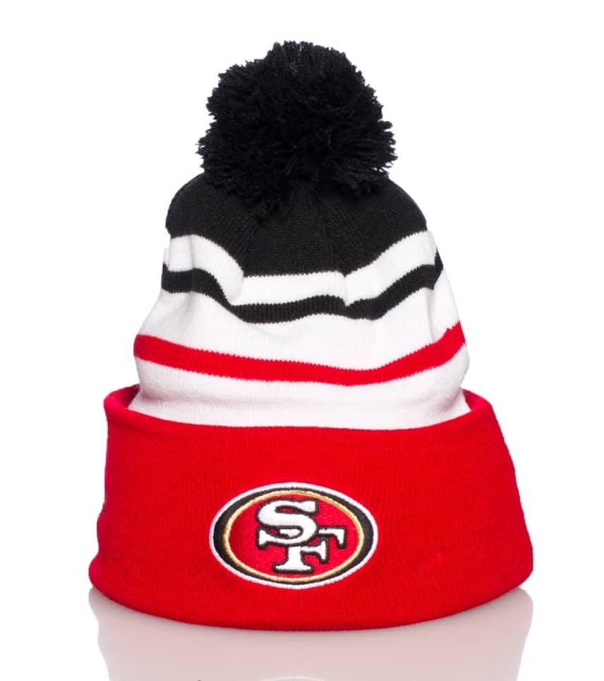49cef2f21c8 New Era SAN FRANCISCO 49ERS NFL STRIPED BEANIE (Red) - 11039701H ...