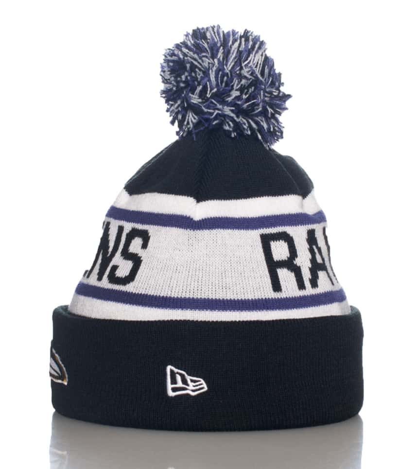 New Era Biggest Fan Redux Ravens Winter Cap (Black) - 11040913H ... 87a1c20e9