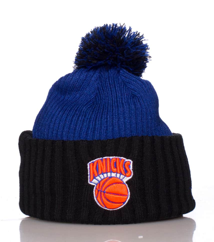ab5c30ba945 New Era NEW YORK KNICKS NBA RIBBED WINTER BEANIE (Blue) - 11077043 ...