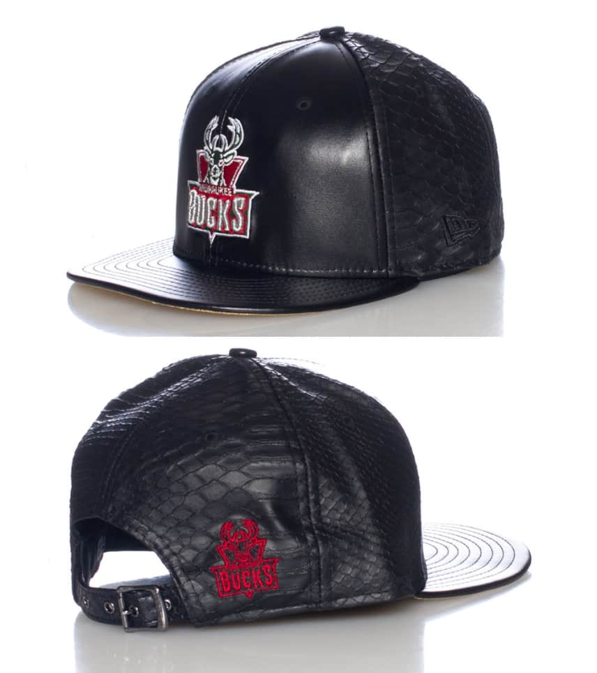 259090d9072 New Era MILWAUKEE BUCKS NBA STRAPBACK CAP (Black) - 11086091H ...