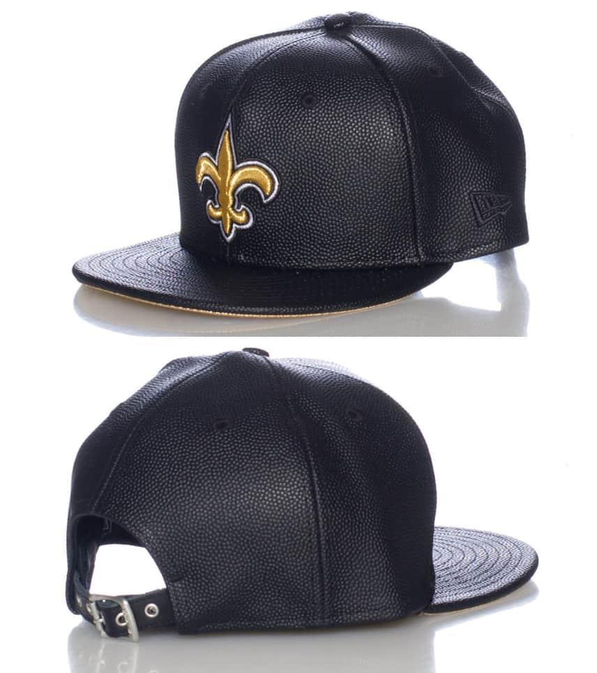 new arrival e6b3a 79bee NEW ERA NEW ORLEANS SAINTS NFL STRAPBACK CAP