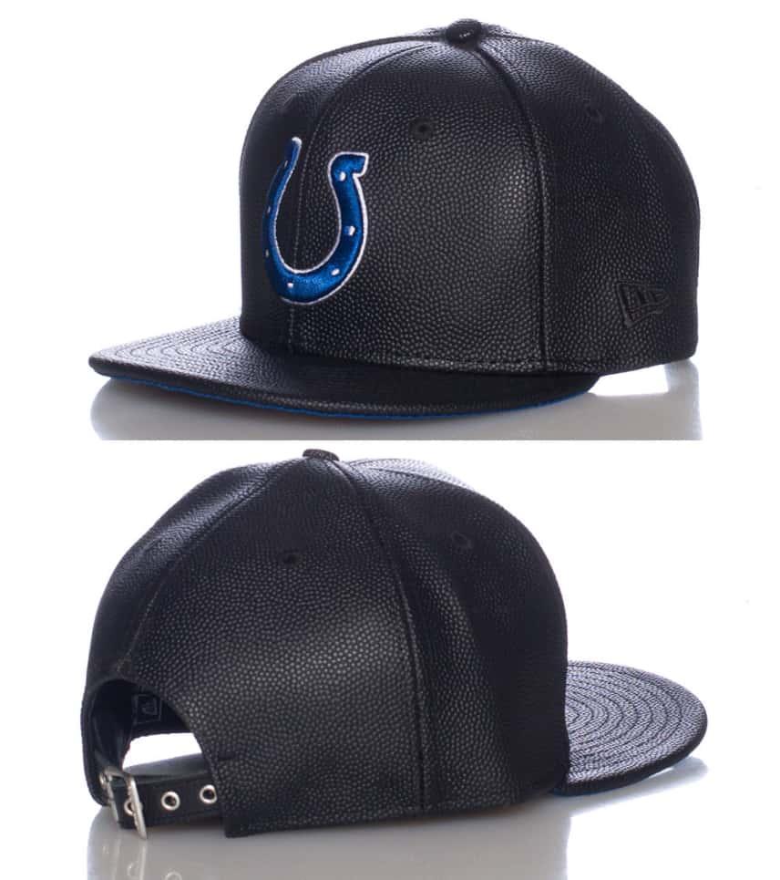 New Era INDIANAPOLIS COLTS NFL STRAPBACK CAP (Black) - 11086108H ... aee0baee0