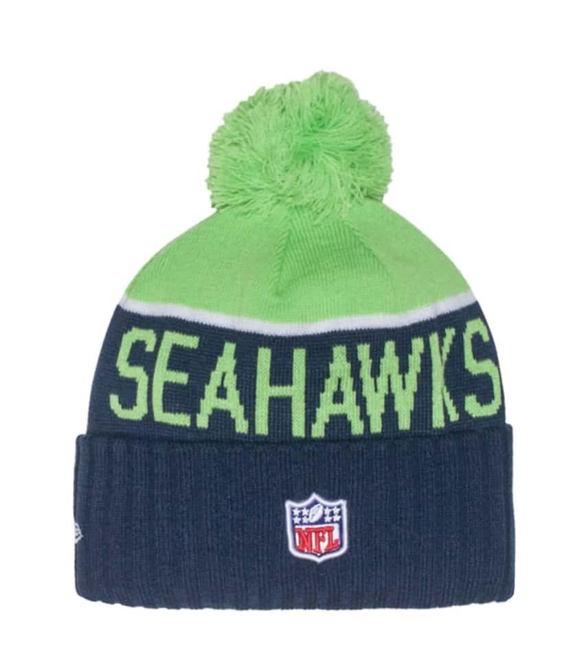 06a7bb88 SEATTLE SEAHAWKS NFL KNIT BEANIE