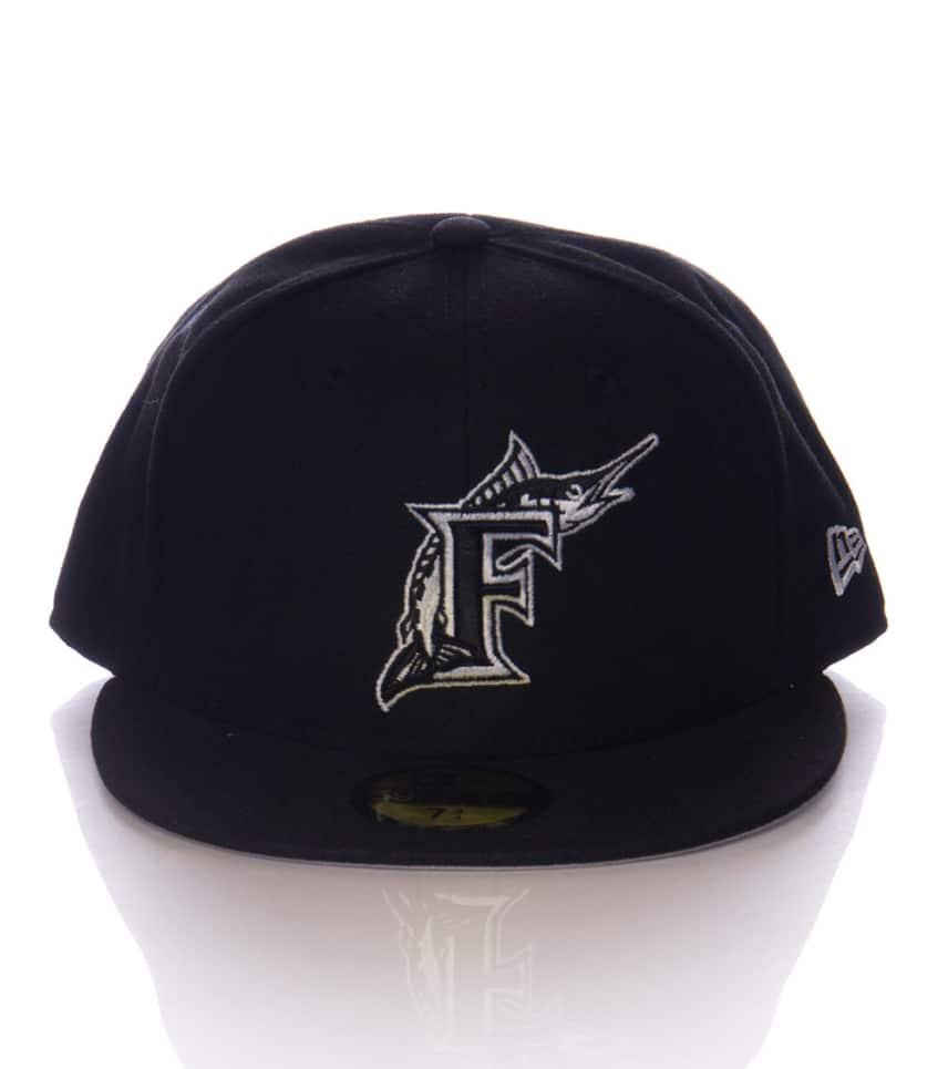 7b9cc21825a31 New Era FLORIDA MARLINS SNAPBACK CAP (Black) - 11167487H | Jimmy Jazz