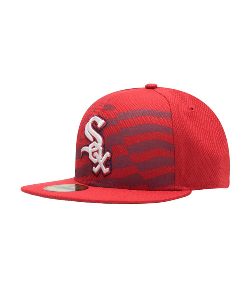 885d3ccff7316c New Era Chicago White Sox July 4th Fitted (Red) - 11171212H | Jimmy Jazz