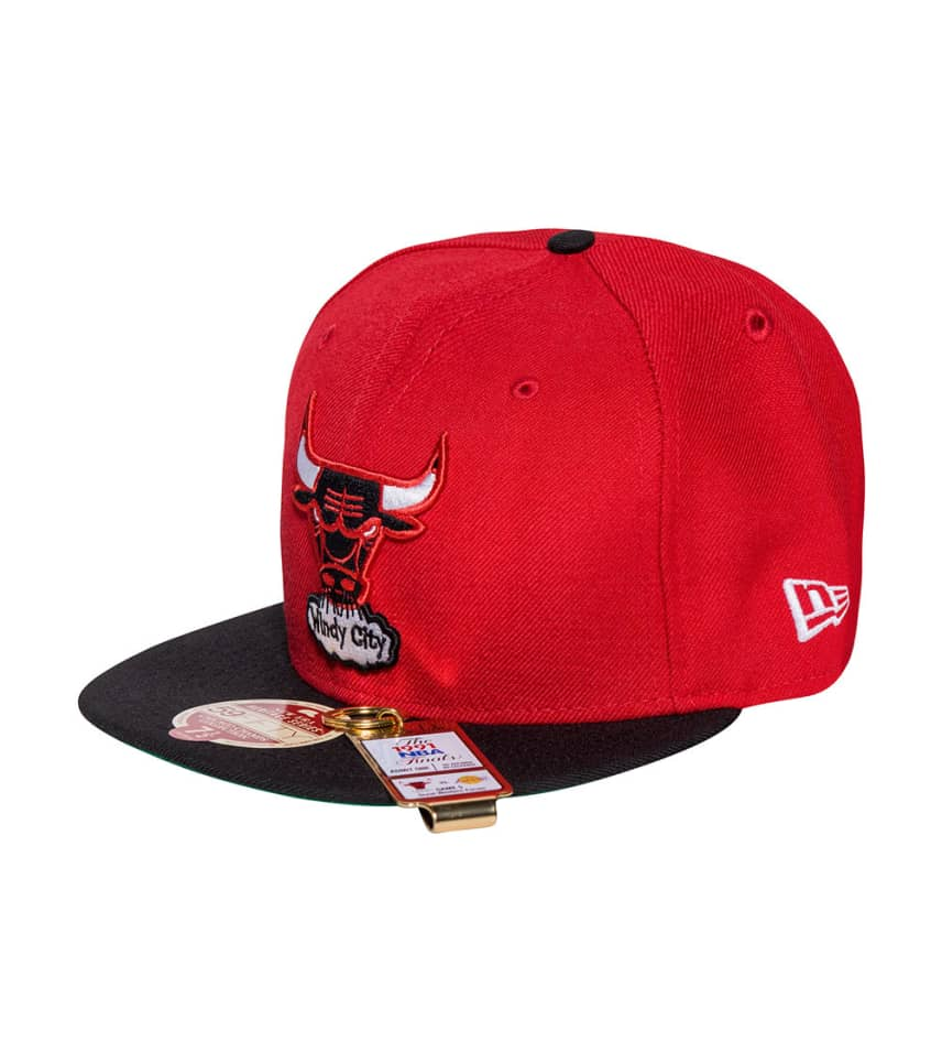 2d50c7a62 New Era CHICAGO BULLS NBA 90-91 CHAMPS FITTED (Red) - 11171996H ...