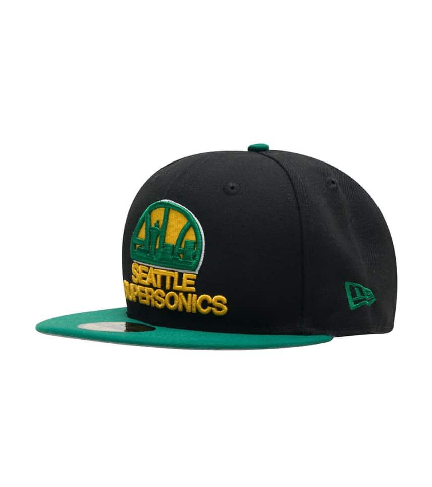 0663258e New Era SEATTLE SUPERSONICS 950 FITTED CAP (Black) - 11204268H ...