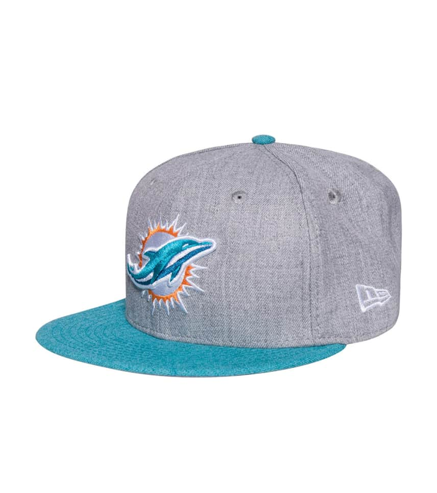 New Era Dolphins NFL Fitted Cap Jj Exclusive (Grey) - 11206833H ... 57494d945d9
