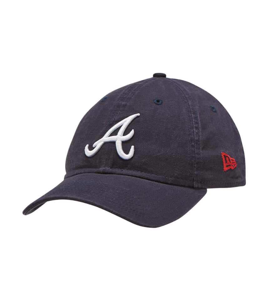 New Era Atlanta Braves 9twenty Dad Hat (Navy) - 11417835H  97b74f8cc4a