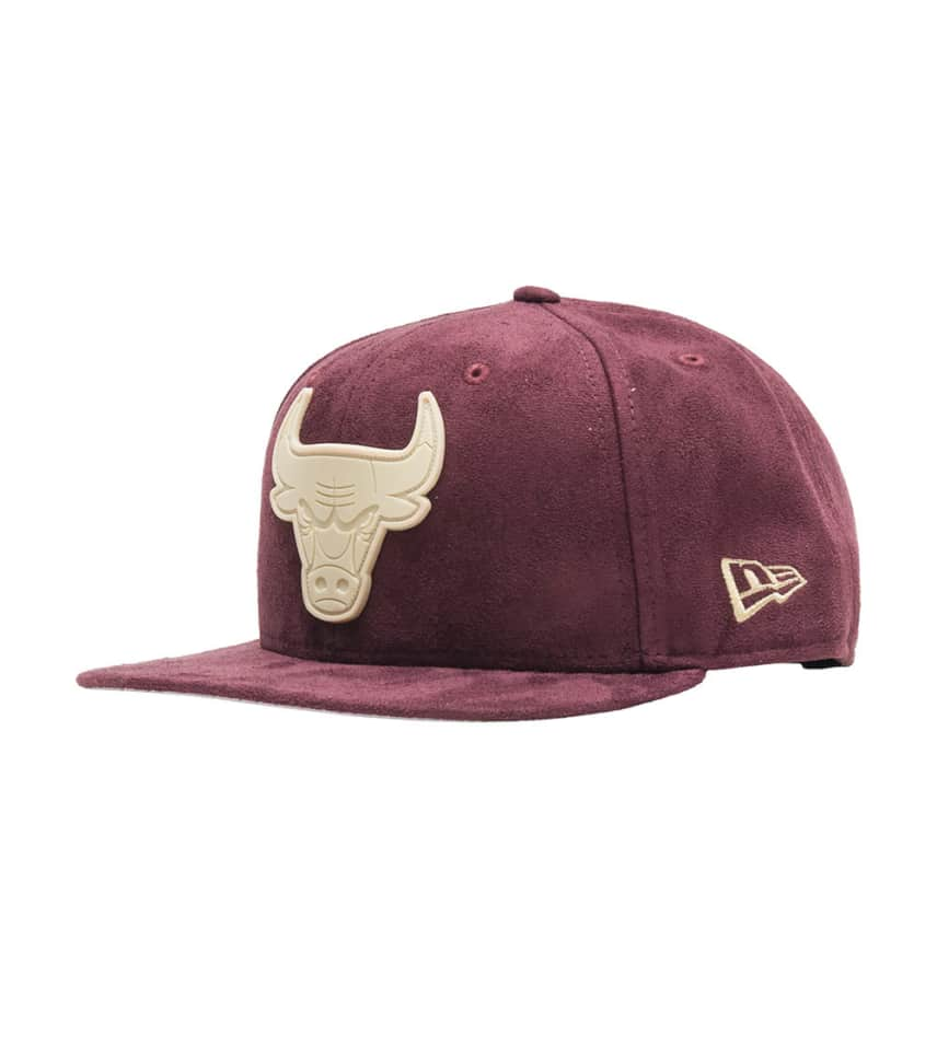 New Era Bulls Suede Snapback Jj Exclusive (Burgundy) - 11506879H ... 7b6b2f19cbc
