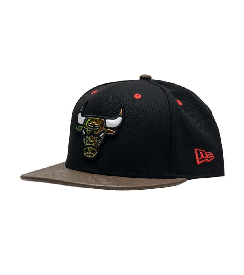 New Era Chicago Bulls Snapback Cap (Black) - 11564236H  37b62e5275d