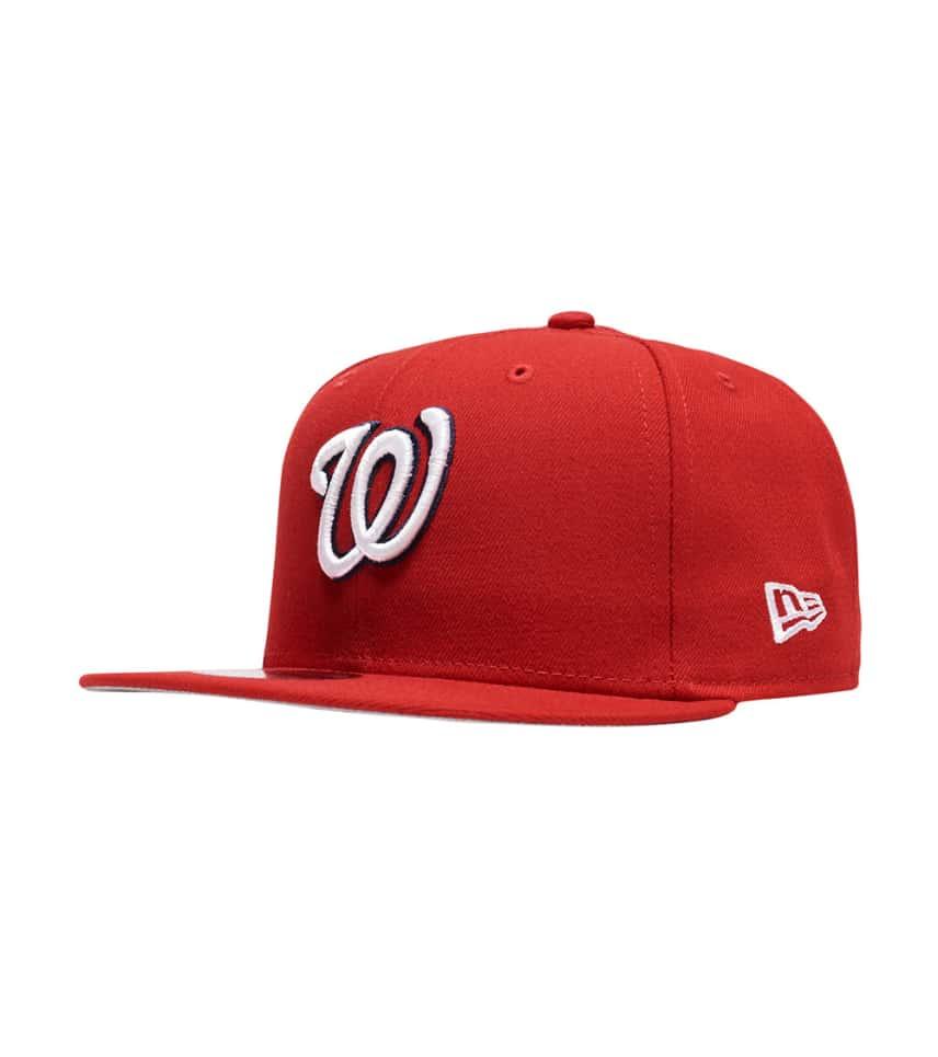ae89c2788 New Era Washington Nationals 9Fifty Snapback (Red) - 11590989H ...