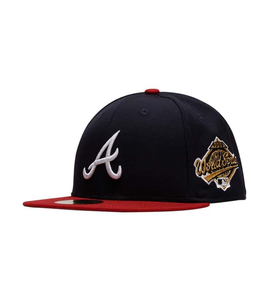 half off 6325a 7ac6b New Era 95 Atlanta Braves WS Fitted