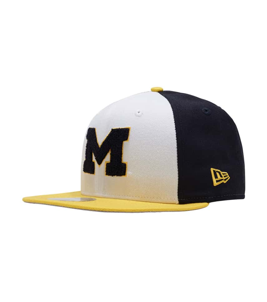 New Era Michigan Wolverines 9fifty Snapback (White) - 11802671H ... c237855ce9e