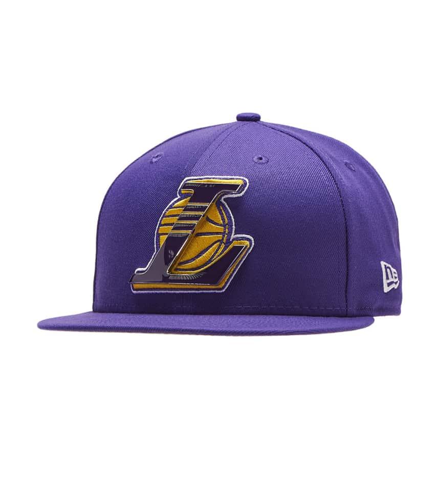 ... New Era - Caps Snapback - Los Angeles Lakers Metal   Thread Hat ... df8e1437bd3