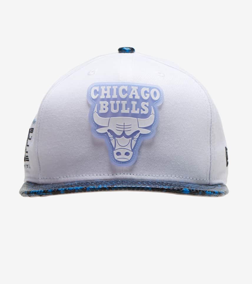 fff2ea41 New Era Chicago Bulls 59FIFTY Snakeskin Snapback (White) - 12109331H ...