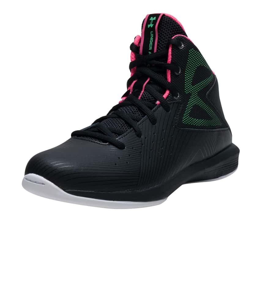 f7d8bceaad4c Under Armour BGS ROCKET SNEAKER (Black) - 1265440-002