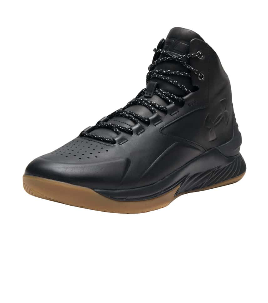 95612c8f Under Armour CURRY 1 LUX MID LEATHER (Black) - 1296616-001 | Jimmy Jazz